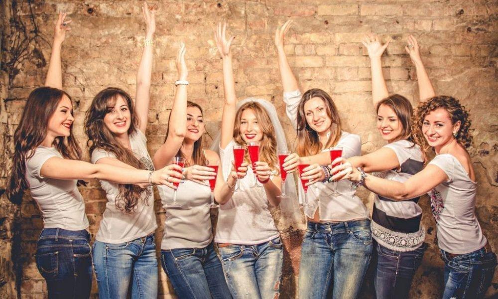 Vrijgezellen feest dames bij Kartbaan Winterswijk