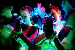 Lasergamen in WInterswijk
